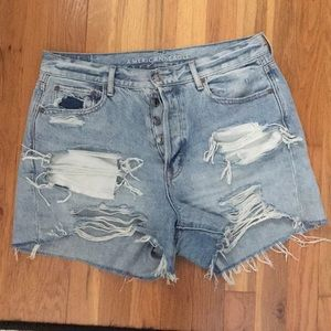 American Eagle 90s boyfriend jean shorts